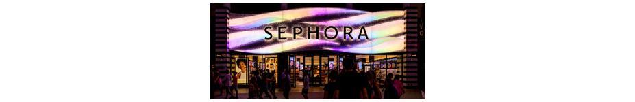 Retail Storefront Lighting: Sephora Universal CityWalk Hollywood