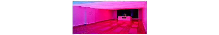 Experiential Retail Lighting: Stella McCartney + Chroma Yoga