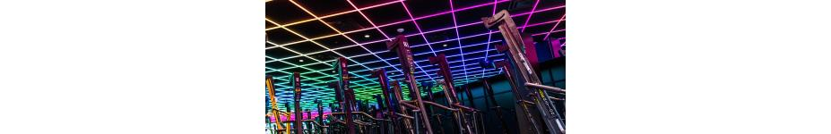 Health Club Lighting: Rise Nation