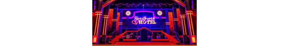 Stage Lighting: Heartbreak Hotel in Concert