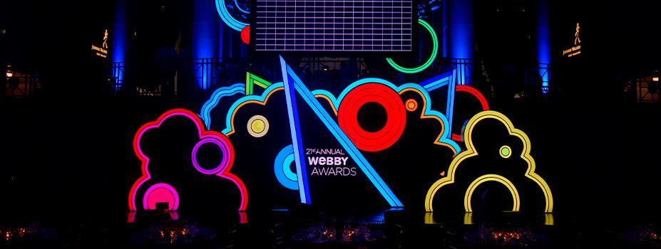 Scenic: Webby Awards Stage