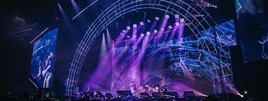 """Stage Lighting: Got7 """"Eyes On You"""" Tour"""