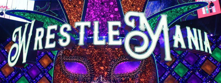 Event Lighting: WrestleMania LED Sign