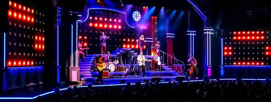 Stage LED Lighting: Heartbreak Hotel