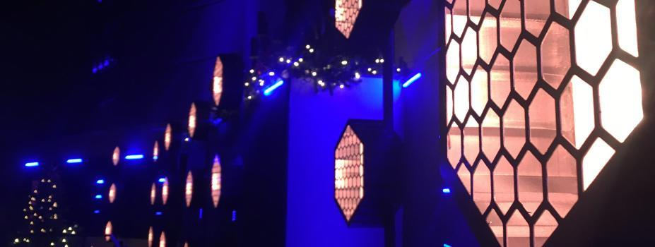 House of Worship Lighting - Hoffmantown Church Stage