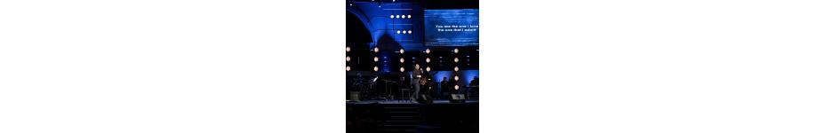 House of Worship Lighting - Hoffmantown Church Stage Gallery