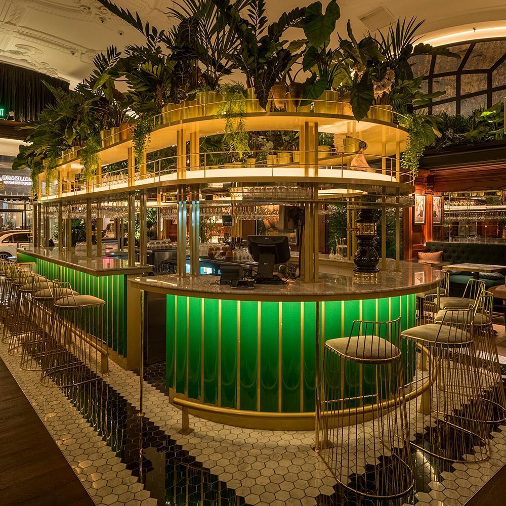 Restaurant LED Lighting: V DTLA