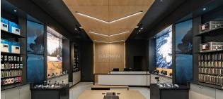 Retail Store Lighting: Garmin Aventura