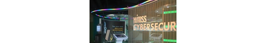 HIMSS Cybersecurity Exhibit Booth