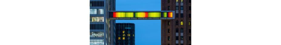 Architectural Lighting: Detroit Skybridge
