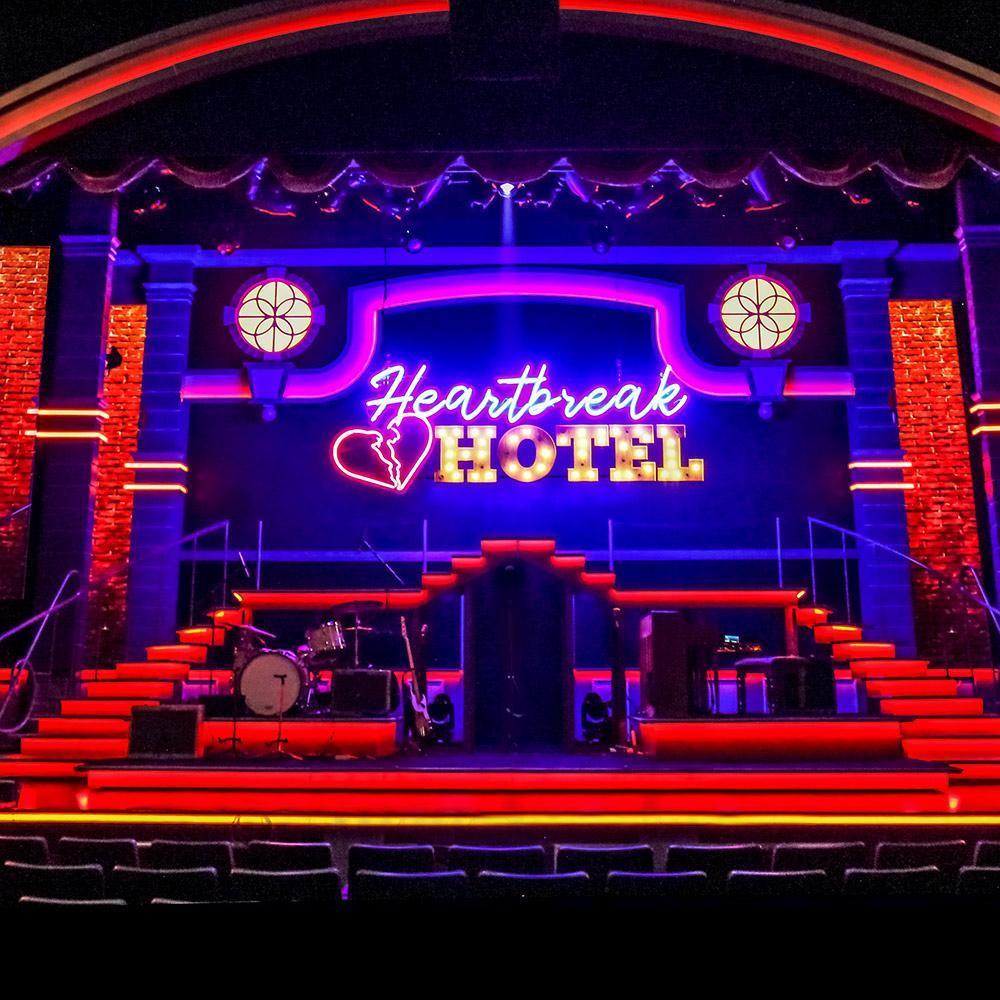 Stage LED Lighting: Heartbreak Hotel