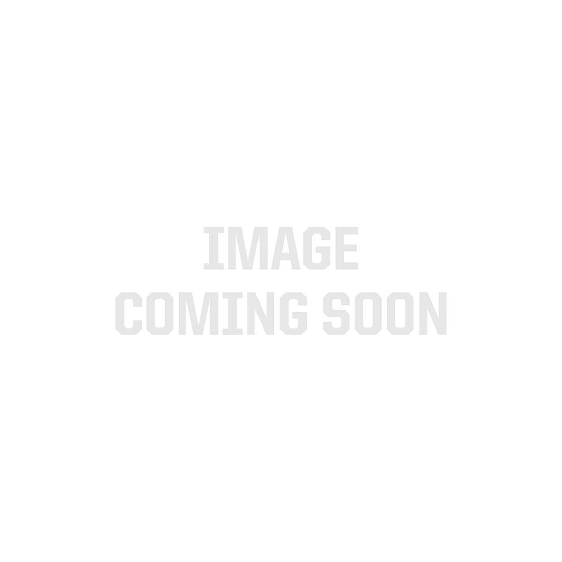 EL MULTI33 Flush Mount Double Row Aluminum Channel (Anodized)
